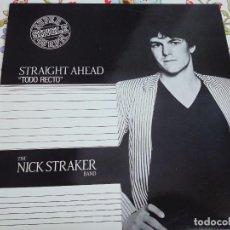 "Discos de vinilo: THE NICK STRAKER BAND* - STRAIGHT AHEAD = TODO RECTO (12"", MAXI). NUEVO. MINT / NEAR MINT. Lote 294964778"