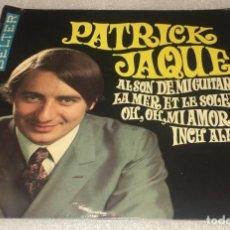 Discos de vinilo: EP PATRICK JAQUE - INCH ALLAH - AL SON DE MI GUITARRA Y OTROS TEMAS- BELTER 51.836 -PEDIDO MINIMO 7€. Lote 294965153
