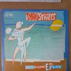 Discos de vinilo: DIRE STRAITS. EXTENDED DANCE EPLAY. 1983 ESPAÑA. EP. 64 00 747 (15). DISCO Y CARÁTULA VG+. Lote 294966723