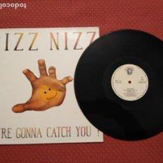 Discos de vinilo: BIZZ NIZZ - WE'RE GONNA CATCH YOU SPITFIRE MUSIC MADE IN SPAIN. Lote 294967403