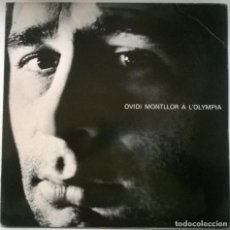 Discos de vinil: OVIDI MONTLLOR & TOTI SOLER. A L'OLYMPIA. EDIGSA, SPAIN 1975 LP. Lote 294971533
