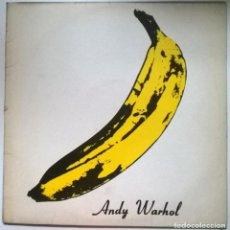 Discos de vinilo: THE VELVET UNDERGROUND & NICO. ANDY WARHOL 1966. POLYDOR, SPAIN 1991 LP. Lote 294976458
