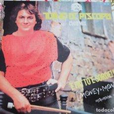 Discos de vinilo: TULLIO DE PISCOPO – 'E FATTO 'E SORDE! E?. (MONEY MONEY) BLANCO Y NEGRO – MX 141.NUEVO. MINT/ NM.. Lote 294977003