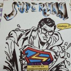 """Discos de vinilo: STARGO – SUPERMAN.1986. SELLO: FONOMUSIC – 04.2350/8. (12""""), NUEVO. MINT / NEAR MINT. ITALO DISCO. Lote 294978408"""