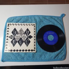 Discos de vinilo: MS-1. LOS MUSTANG, AUTOGRAFIADO - LA, LA, LA, + 3 TEMAS - EMI EPL 14.283 ESPAÑA 1966.. Lote 294994658