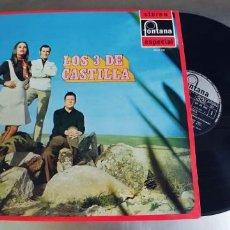Discos de vinilo: LOS 3 DE CASTILLA-LP 1970. Lote 295008238