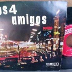 Discos de vinilo: LOS 4 AMIGOS-EP BAION DE MADRID +3-ORLADOR-NUEVO. Lote 295008448