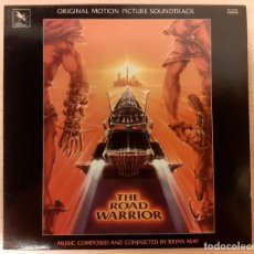 Discos de vinilo: THE ROAD WARRIOR (MAD MAX 2 EL GUERRERO DE LA CARRETERA) BRIAN MAY VARÈSE SARABANDE 1982 COMO NUEVO. Lote 295014268