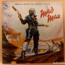 Discos de vinilo: MAD MAX BRIAN MAY VARÈSE SARABANDE 1980 COMO NUEVO!!. Lote 295014998