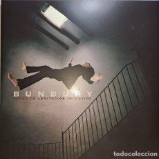 Discos de vinilo: BUNBURY – CURSO DE LEVITACIÓN INTENSIVO LP+CD. Lote 295015078