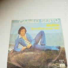 Discos de vinilo: SINGLE. CAMILO SESTO. MELINA / QUE DIFICIL ES SER FELIZ. 1975. DISCOS ARIOLA. Lote 295015773