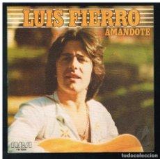 Discos de vinilo: LUIS FIERRO - AMANDOTE / MUJER ¿DONDE ESTAS? - SINGLE 1979 - PROMO. Lote 295016108