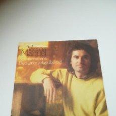 Discos de vinilo: SINGLE. VICTOR MANUEL. SOLO PIENSO EN TI / DIGO AMOR Y DIGO LIBERTAD. 1978. CBS. Lote 295017223