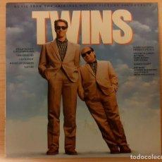Discos de vinilo: TWINS (LOS GEMELOS GOLPEAN DOS VECES) GEORGES DELERUE, VARIOS EPIC RECORDS 1989. Lote 295017988