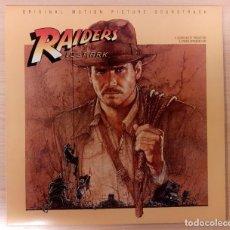 Discos de vinilo: RAIDERS OF THE LOST ARK (EN BUSCA DEL ARCA PERDIDA) JOHN WILLIAMS POLYDOR RECORDS UK COMO NUEVO!. Lote 295021303