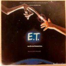 Discos de vinilo: E.T. THE EXTRA-TERRESTRIAL (E.T. EL EXTRATERRESTRE) JOHN WILLIAMS MCA RECORDS 1982 COMO NUEVO!!. Lote 295024653