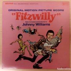 Discos de vinilo: FITZWILLY (CUIDADO CON EL MAYORDOMO) JOHN WILLIAMS DISCOS VINILO 1985 COMO NUEVO!!. Lote 295026258