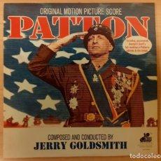 Discos de vinilo: PATTON JERRY GOLDSMITH 20TH CENTURY RECORDS USA 1977 COMO NUEVO!!. Lote 295027533