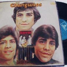 Discos de vinilo: LOS CHUNGUITOS-LP BARRIO. Lote 295027768