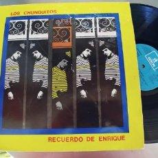 Discos de vinilo: LOS CHUNGUITOS-LP RECUERDO DE ENRIQUE. Lote 295028053