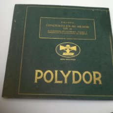 Discos de vinilo: 4 DISCOS DE PIZARRA. CHOPIN. CONCIERTO EN MI MENOR. OP.11. ALEJANDRO BRAILOWSKY Y ORQUESTA BERLIN.. Lote 295029078