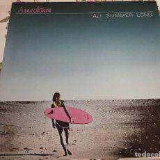 """Discos de vinilo: ANNECLAIRE - ALL SUMMER LONG (12"""") 1985. SELLO:CRASH CAT. N.º: DS 033. NUEVO. MINT / NEAR MINT. Lote 295030888"""