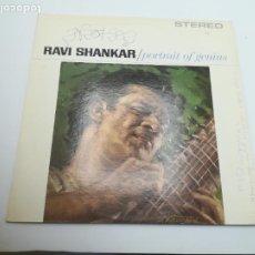 Discos de vinilo: LP. RAVI SHANKAR. PORTRAIT OF GENIUS. STEREO 1432. Lote 295032203