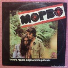 Discos de vinilo: LP JACQUES DENJEAN - MORBO BSO - BOCACCIO BS-32 101 - SPAIN 1972 (VG+/VG+). Lote 295034713