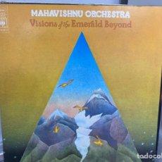 Discos de vinilo: MAHAVISHNU ORCHESTRA - VISIONS OF THE EMERALD BEYOND (LP, ALBUM) (1975/UK). Lote 295037088