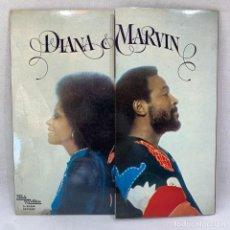 Discos de vinilo: LP - VINILO DIANA ROSS & MARVIN GAYE - DIANA & MARVIN - PORTADA DESPLEGABLE - ESPAÑA - AÑO 1974. Lote 295038623