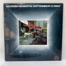 Discos de vinilo: LP - VINILO ASTRUD GILBERTO - SEPTEMBER 17,1969 - ESPAÑA - AÑO 1970. Lote 295038953