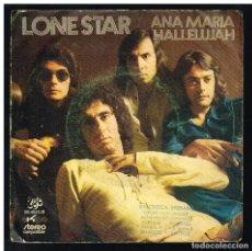 Discos de vinilo: LONE STAR - ANA MARIA / HALLELUJAH - SINGLE 1972 - SOLO PORTADA, SIN VINILO. Lote 295040728