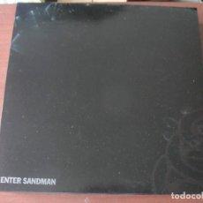 Discos de vinilo: EP METALLICA ENTER SANDMAN NUEVO 4 TEMAS. Lote 295041803