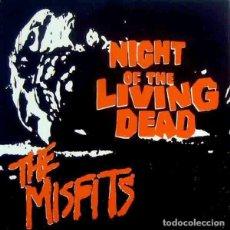 """Discos de vinilo: MISFITS NIGHT OF THE LIVING DEAD (7"""") . REEDICIÓN VINILO PUNK DANZIG. Lote 295044278"""