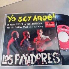 Discos de vinilo: LOS PAYADORES-EP YO SOY AQUEL +3-NUEVO. Lote 295046123