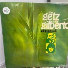 Discos de vinilo: STAN GETZ / ASTRUD GILBERTO - STARPORTRAIT (2XLP, ALBUM) (1978/ES). Lote 295048158