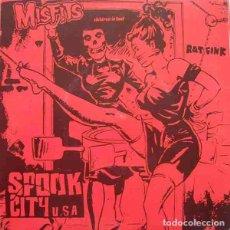 """Discos de vinilo: MISFITS SPOOK CITY U.S.A. (7"""") . REEDICIÓN VINILO PUNK DANZIG. Lote 295049288"""