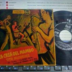 Discos de vinilo: TITO RODRÍGUEZ EP EL TÚNEL + 3 ESPAÑA. Lote 295099083