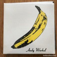 Discos de vinilo: VELVET UNDERGROUND & NICO - S/T (1967) - LP VERVE REEDICIÓN NUEVO - ANDY WARHOL. Lote 295154458