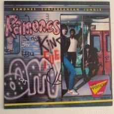 Discos de vinilo: LP RAMONES – SUBTERRANEAN JUNGLE EDICION EUROPEA DE 1983. Lote 295274018
