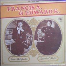 Discos de vinilo: FRANK SINATRA & DUKE ELLINGTON: FRANCIS A. & EDWARD K. DOS GENIOS SE REUNEN. ORIGINAL U.S.A.. Lote 295280973