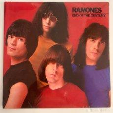 Discos de vinilo: LP RAMONES END OF THE CENTURY EDICIÓN ESPAÑOLA DE 1980. Lote 295284998