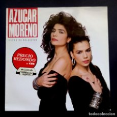 Discos de vinilo: AZUCAR MORENO - CARNE DE MELOCOTÓN - LP 1988 - EPIC. Lote 295285278