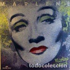Discos de vinilo: MARLENE DIETRICH - MARLENE - LP COMPILATION UK 1985. Lote 295286618