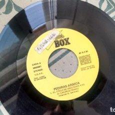 Discos de vinilo: SINGLE (VINILO)-PROMOCION- DE PEDIRAS ARNICA AÑOS 80 ( SIN FUNDA). Lote 295288248
