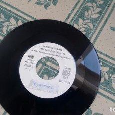 Discos de vinilo: SINGLE -PROMOCION- DE FARSANTES FINGIDOS AÑOS 90. Lote 295288918