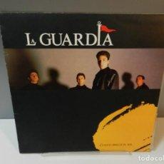 Discos de vinilo: DISCO VINILO LP. LA GUARDIA – CUANDO BRILLE EL SOL. 33 RPM. Lote 295289148