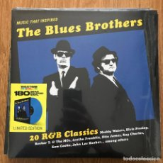 Discos de vinilo: VV.AA. - MUSIC THAT INSPIRED THE BLUES BROTHERS - 20 R&B CLASSICS - LP WAXTIME 2021 NUEVO. Lote 295290643