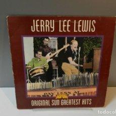 Discos de vinil: DISCO VINILO LP. JERRY LEE LEWIS – ORIGINAL SUN GREATEST HITS. 33 RPM. Lote 295291228