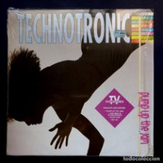 Discos de vinilo: TECHNOTRONIC - PUMP UP THE JAM - LP 1989 - MAX MUSIC. Lote 295292083